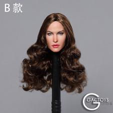 GACTOYS 1/6  Megan Fox Head Sculpt GC029B Model F 12'' Female Action Figure Doll