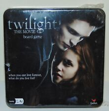 Twilight The Movie Board Game New sealed in metal tin Cardinal 2009