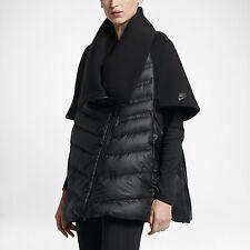 Nike NikeLab Sportswear Tech Fleece Aeroloft Women's Down Cape sz S [804980-010]