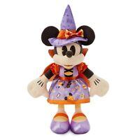 Disney Minnie Mouse Halloween Calabaza Muñeco de Peluche Muñeca 43cm