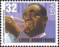 USA 1995 Louis Armstrong/Trumpet/Jazz Musician//Music/People 1v (n43505k)