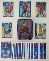 2018/19 Match Attax UEFA - Lot of 100 cards inc Limited & 100 club + FREE tin