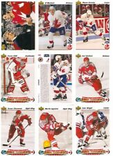 1991-92 UD Upper Deck Team Canada World Jrs. + Canada Cup Complete Team Set (23)