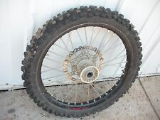 YZ250f YZ Yamaha 2013 09 10 11 12 13 front rim rotor tire see video #87