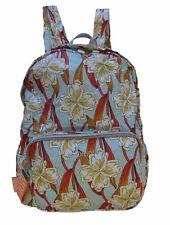 NEU Oilily Rucksack Enjoy Ornament Backpack LVZ Damen Rucksack Faltbar Türkis