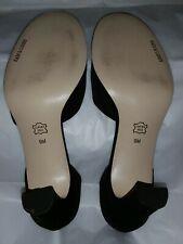Sam & Libby Black Heels Sz 9 M  worn once Mary Janes Blowout shoe sale!