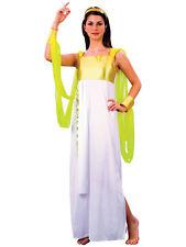 Ladies Roman Toga Ancient Greek Goddess Costume Hen Night Fancy Dress Grecian