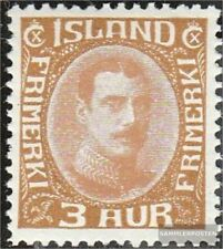 Iceland 157 with hinge 1931 Christian