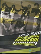 TVXQ: 2006 Live Concert - Rising Sun (DVD, 2011) Japan Boy Band FREE shipping
