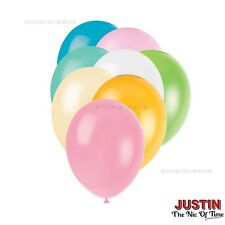 "HELIUM QUALITY LATEX BALLOONS 12"" Standard & Pearlised Decoration Birthday Party"