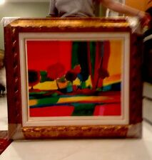Marcel Mouly  Somfluenze Automne Lithograph Wove Paper Signed Numbered Large