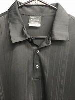 ⛳️✔️Nike Golf Dri-Fit Short Sleeve Polo Shirt Men's Medium M Black✔️⛳️