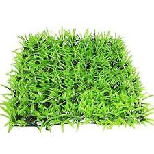 Fish Aquarium Artificial / Plastic Plant for Decoration Aquarium Grass Mat