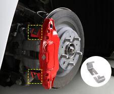 Red Front & Rear Brake Disc Caliper Covers 4pcs For Tesla Model 3 2018-2019
