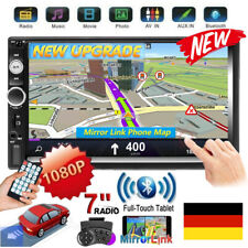 """7"""" 2 Din Autoradio IOS/Android Mirror Link Bluetooth Stereo MP5 Player USB AUX"""