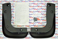 GENUINE Vauxhall ASTRA J - FRONT MUDFLAPS / SPLASH GUARDS KIT - NEW - 13412730