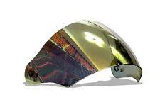 HJC Helmet HJ-11 RST mirror Shield Visor Gold CL-33 AC-3