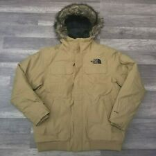 The North Face Men's Gotham Down Jacket III Khaki Size XXL 2X
