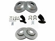 For 2002-2005 GMC Envoy XL Brake Pad and Rotor Kit Front and Rear 39483QW 2003
