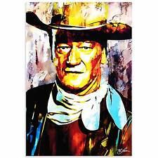 Pop Art 'John Wayne Gallant Duke' - Ltd. Ed. Giclee on Acrylic