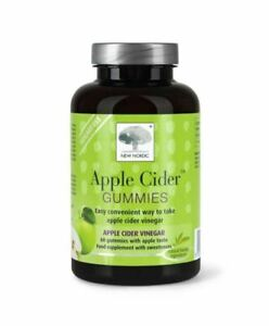 New Nordic Apple Cider Gummies 60 gummies Reduced Exp.09/2021