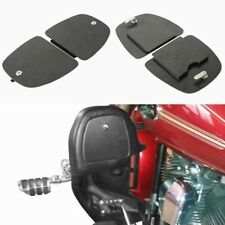 ABS Black Lower Fairing Locking Glove Box Doors For 05-13 Harley Touring Glide