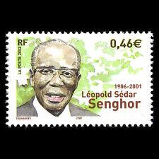 France 2002 - Death of Léopold Sedar Senghor - Sc 2925 MNH