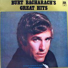BURT BACHARACH Great Hits LP
