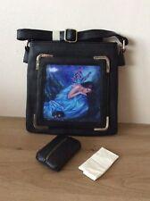 Caszmy 3D Donna Nero Gotico Vegan spalla sidebag gratuito tessuto copertura Serenity