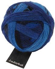 Zauberball® 100g von Schoppel Farbe 2134 Deine blauen Augen Wolle Sockenwolle