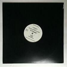 DJ SHADOW - 3 FREAKS * 12 INCH VINYL * MINT * FREE P&P UK * HIP HOP *