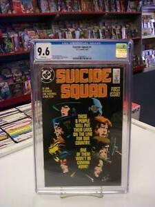 SUICIDE SQUAD #1 (DC Comics, 1987) CGC Graded 9.6!