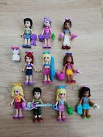 LEGO - friends X10 qty minifigure & X30 Accessories pack! + x1 Free Pet gift!