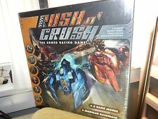 2009 AEG Rackham Games Rush n' Crush Armed Racing Game MIB Sealed