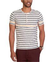 Nautica Mens Slim-Fit Stripe Henley Shirt