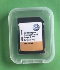 VW Discover Media Navigation comme Carte UK GB Europe Sat Nav SD Card 2018 - 2019 V9