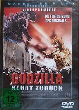 DVD   Godzilla kehrt zurück , neu in Folie , ohne FSK Logo