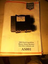 2002 Ford Expedition AC Heat Blower Motor Resistor Pt# F5LF-19E624-AD   #AS001*