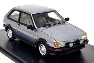 NEO 1/43 Scale - 1984 Ford Fiesta XR2 MK2 Metallic Grey - Resin Model Car