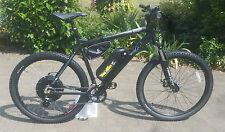 Electric Bike - Wing Black Trakehner 1000w 48V 12ah or 1700w 52v 17.5ah 40mph+