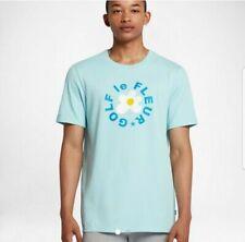 Converse Mens One Star Golf Le Fleur T Shirt Tee Light Blue Teal Sizes S - XL
