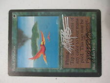 Birds of Paradise from Beta Double Signed X1 Near Mint Minus NM- MTG Magic