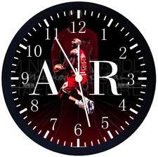 Michael Jordan Black Frame Wall Clock X39