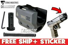 Strike Industries G4 Glock SLIDE COMP 17 19 22 23 31 32 DROP IN Reduce Recoil