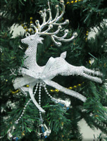 Christmas Deer Cute Ornaments Festival Party Xmas Tree Hanging Decoration Hoom