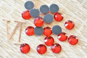 Siam / Red 6mm/SS30 Hotfix 140pcs-350pcs Glass Rhinestone Iron On Flatback