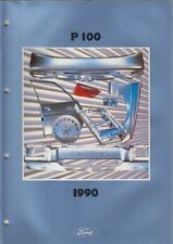 FORD P100 (CORTINA & SIERRA BASED) '81- FACTORY BODY PANELS PICTORIAL PARTS LIST