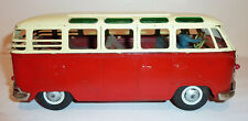 1950s/60s BANDAI Japanese Tin Litho BaOp 23 WINDOW VOLKSWAGEN MICRO-BUS ~ 9.75""