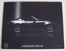 Mazda . MX5 . Mazda MX-5 . September 2017 Sales Brochure