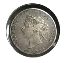1872 H CANADA 25 Cents Very Attractive Original Coin!